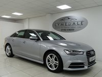 USED 2015 15 AUDI A6 2.0 TDI ULTRA S LINE 4d  SAT NAV, LEATHER, HEATED FRONT SEATS, RETRACTABLE MMI