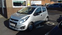 USED 2013 63 CHEVROLET SPARK 0.9 LS 5d 67 BHP CHEAP TO RUN , LOW CO2 EMISSIONS, £30 ROAD TAX AND EXCELLENT FUEL ECONOMY! GOOD SPECIFICATION INCLUDING AIR CONDITIONING, AUXILLIARY INPUT , USB CONNECTION AND MEDIA! ONLY 9231 MILES FROM NEW!