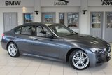 USED 2015 65 BMW 3 SERIES 2.0 320D M SPORT 4d 188 BHP FULL OYSTER CREAM LEATHER SEATS + FULL SERVICE HISTORY + SATELLITE NAVIGATION + £30 ROAD TAX + BLUETOOTH + DAB RADIO + REAR PARKING SENSORS + AUTOMATIC AIR CONDITIONING