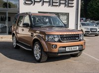 USED 2016 16 LAND ROVER DISCOVERY 3.0 SDV6 LANDMARK 5d AUTO 255 BHP