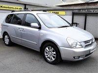 2008 KIA SEDONA 2.9 TS 5d AUTO 183 BHP £3450.00