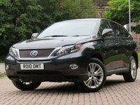 USED 2010 10 LEXUS RX 3.5 450H SE-L 5d AUTO 249 BHP