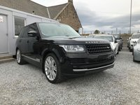 """USED 2013 62 LAND ROVER RANGE ROVER Vogue 3.0 TDV6 Auto 5dr ( 258 bhp ) Beautiful Example 22"""" Overfinch Alloys Lovely Contrast Colour & Interior"""