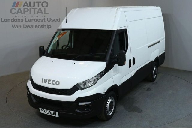 2015 15 IVECO-FORD DAILY 2.3 35S13V 5d 126 BHP L2 H3 MWB HIGH ROOF PANEL VAN