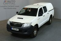 USED 2013 63 TOYOTA HI-LUX 2.5 HL2 4X4 D-4D DCB 4d 142 BHP AIR CON LIGHT UTILITY PICK UP AIR CONDITIONING / SPARE KEYS