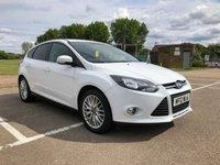 2012 FORD FOCUS 1.6 ZETEC 5d 124 BHP £7295.00