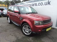 USED 2010 10 LAND ROVER RANGE ROVER SPORT 3.0 TDV6 HSE 5d AUTO 245 BHP Two Previous Owners Full Dealer History+Navigation+Harman Kardon Sound System
