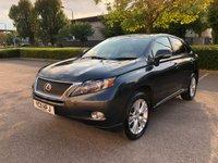 2011 LEXUS RX 3.5 450H SE-I 5d AUTO 249 BHP £15450.00
