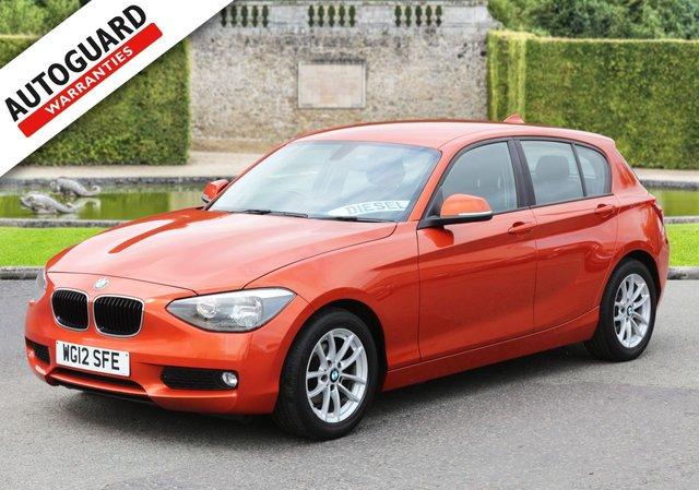 2012 12 BMW 1 SERIES 1.6 116D EFFICIENTDYNAMICS 5d 114 BHP