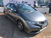 USED 2013 63 HONDA CIVIC 1.6 I-DTEC ES 5d 118 BHP