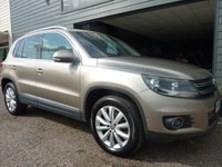 2014 VOLKSWAGEN TIGUAN 2.0 MATCH TDI BLUEMOTION TECHNOLOGY 4MOTION 5d 139 BHP £10995.00
