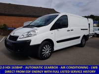 2013 PEUGEOT EXPERT 1200 LWB AUTOMATIC 2.0 HDI 163BHP WITH AIR CON FROM EDF
