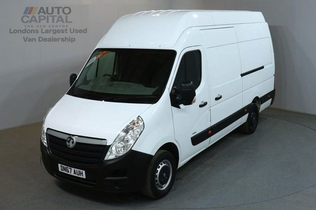 2017 67 VAUXHALL MOVANO 2.3 R3500 L3H3 CDTI 123 BHP LWB RWD EXTRA H/ROOF VAN ONE OWNER FROM NEW SPARE KEY