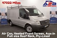 2013 FORD TRANSIT 2.2 TDCI T260 100 BHP Low Mileage 47012 Miles, Air Con, Rear Parking Camera £6980.00