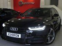 2015 AUDI A6 AVANT 2.0 TDI ULTRA S LINE BLACK EDITION 5d AUTO 190 S/S £21483.00