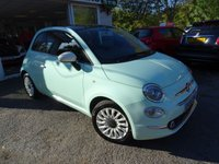 USED 2015 65 FIAT 500 1.2 LOUNGE DUALOGIC 3d AUTOMATIC 69 BHP NEW SHAPE Full Service History, Serviced by ourselves, One Lady Owner from new, Minimum 8 months MOT, Good on fuel economy! ONLY £20 Road Tax!