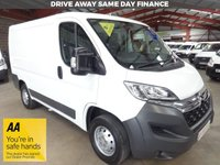 """USED 2016 16 CITROEN RELAY 2.2 30 L1H1 ENTERPRISE HDI 110 BHP SWB-ONE OWNER-AIR CON-SAT NAV  """"YOU'RE IN SAFE HANDS"""" - AA DEALER PROMISE"""