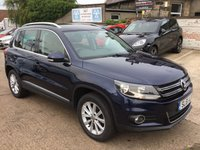 2011 VOLKSWAGEN TIGUAN 2.0 SE TDI BLUEMOTION TECHNOLOGY 4MOTION 5d 138 BHP £9950.00
