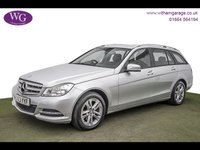 USED 2013 63 MERCEDES-BENZ C CLASS 2.1 C200 CDI BLUEEFFICIENCY EXECUTIVE SE 5d 135 BHP