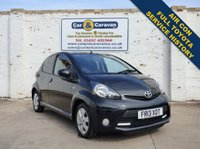 USED 2013 13 TOYOTA AYGO 1.0 VVT-I FIRE AC 5d 67 BHP Full Toyota History Air Con 0% Deposit Finance Available