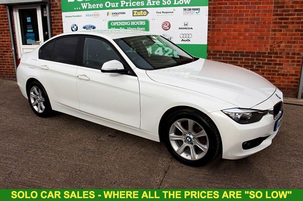 2014 64 BMW 3 SERIES 2.0 316D ES 4d 114 BHP