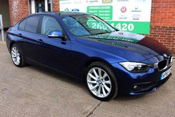 2016 BMW 3 SERIES 2.0 316D SE 4d 114 BHP £12499.00