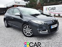 USED 2012 12 RENAULT MEGANE 1.5 GT LINE TOMTOM ENERGY DCI S/S 5d 110 BHP FULL SERVICE + REVERSE CAMERA