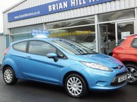 USED 2012 12 FORD FIESTA 1.25 EDGE 3dr