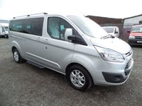 2014 FORD TOURNEO CUSTOM 2.2 300 LIMITED TDCI 5d 124 BHP £11495.00