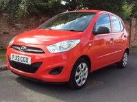 USED 2013 13 HYUNDAI I10 1.2 CLASSIC 5d 85 BHP 1 OWNER, FULL SERVICE HISTORY, MOT JULY 19.  EXCELLENT CONDITION, AIR CON, E/WINDOWS, R/LOCKING, FREE  WARRANTY, FINANCE AVAILABLE, HPI CLEAR, PART EXCHANGE WELCOME,