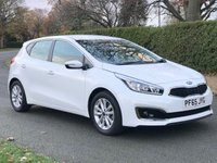 USED 2015 65 KIA CEED 1.6 CRDI 2 ISG 5d AUTO. *VERY LOW MILEAGE. £20 TAX. A FANTASTIC LOW MILEAGE, AND VERY ECONOMICAL, 5 DOOR AUTOMATIC!