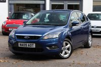 USED 2009 09 FORD FOCUS 1.6 ZETEC 5 DOOR PETROL HATCHBACK FULL SERVICE HISTORY WITH 11 SERVICE STAMPS ** AUGUST 2019 MOT TEST ** FINANCE ** PX