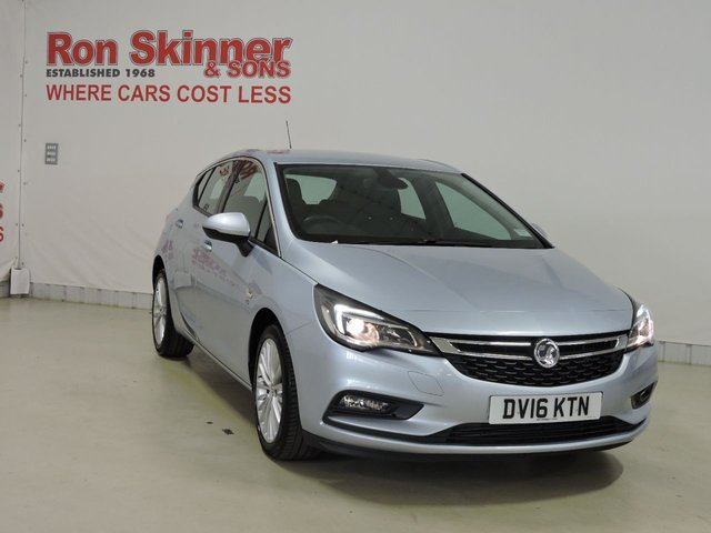 View our 2016 16 VAUXHALL ASTRA 1.4 ELITE 5d 148 BHP