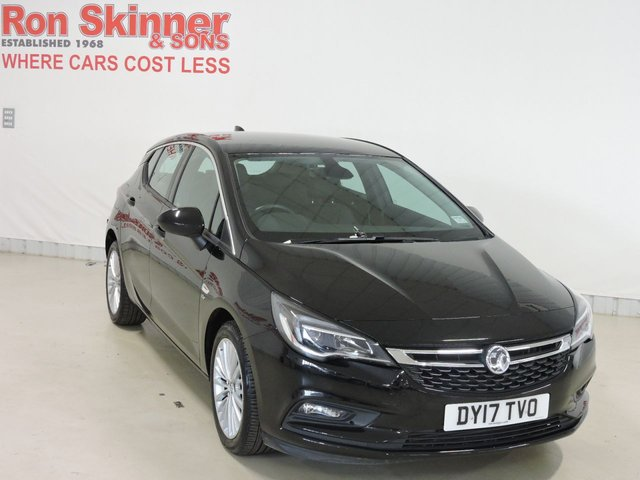 View our 2017 17 VAUXHALL ASTRA 1.4 ELITE NAV 5d 148 BHP