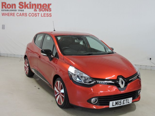 View our 2015 15 RENAULT CLIO 0.9 DYNAMIQUE S MEDIANAV ENERGY TCE S/S 5d 90 BHP