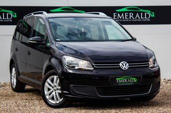 2013 VOLKSWAGEN TOURAN 1.6 SE TDI BLUEMOTION TECHNOLOGY 5d 103 BHP £7800.00