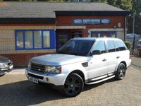 USED 2006 05 LAND ROVER RANGE ROVER SPORT 2.7 TDV6 HSE 5d AUTO 188 BHP F/S/H! Leather! Navigation!