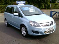 USED 2010 10 VAUXHALL ZAFIRA 1.6 ENERGY 5d 113 BHP FINANCE AVAILABLE EVEN IF YOU HAVE POOR CREDIT.