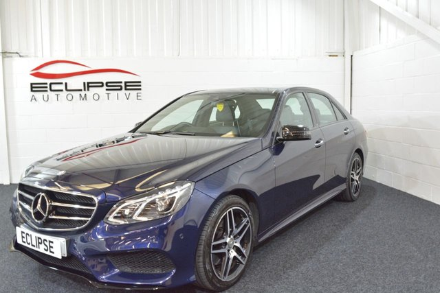 2015 65 MERCEDES-BENZ E CLASS 2.1 E220 BLUETEC AMG NIGHT ED PREMIUM PLUS 4d AUTO 174 BHP