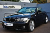 USED 2010 60 BMW 118 D 2.0 M SPORT CONVERTIBLE Full Cream Leather, Heated Seats, Front & Rear Parking Sensors, Bluetooth, I-Pod Connectivity