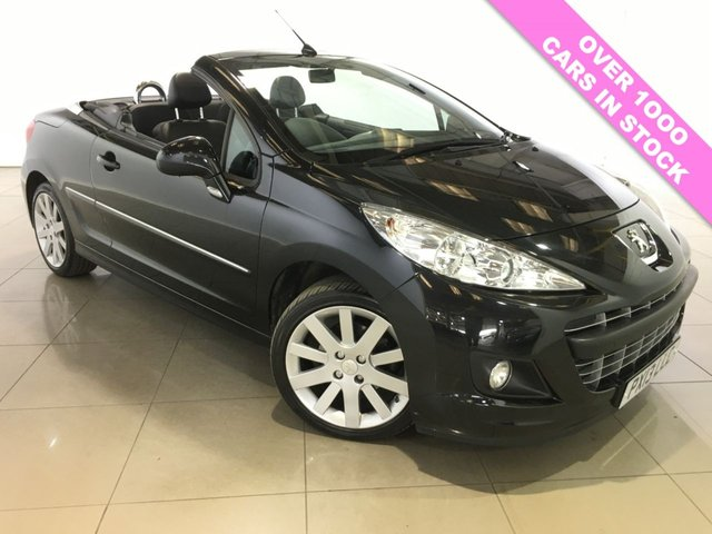 View our 2013 13 PEUGEOT 207 1.6 CC ALLURE 2d 120 BHP