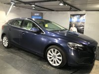 USED 2013 63 VOLVO V40 1.6 D2 SE LUX NAV 5d AUTO 113 BHP Only £20 a year road tax  : Bluetooth    :    Sat Nav    :    DAB Radio    :    Full leather upholstery    :    Heated front seats   :   Heated front screen   :   Rear parking sensors   :   Fully stamped service history