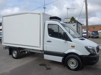 USED 2014 14 MERCEDES-BENZ SPRINTER 313 CDI AUTOMATIC MWB CHILLER BOX, 129 BHP, 6 SPEED