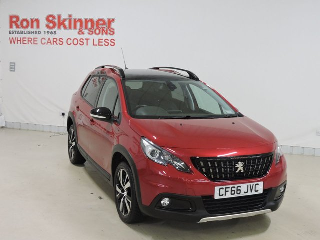 View our 2017 66 PEUGEOT 2008 1.6 BLUE HDI GT LINE 5d 100 BHP