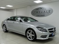 USED 2012 62 MERCEDES-BENZ CLS CLASS 3.0 CLS350 CDI SPORT AMG 4d AUTO 265 BHP FULL MERCEDES HISTORY, SAT NAV, COMAND, DVD, LEATHER