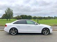 2013 AUDI A4 2.0 TDI S LINE BLACK EDITION 4d 174 BHP £14295.00