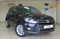 2013 VOLKSWAGEN TIGUAN 2.0 SE TDI BLUEMOTION TECHNOLOGY 4MOTION DSG 5d AUTO 138 BHP £10995.00