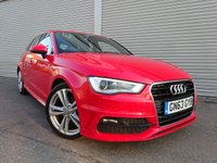 USED 2013 63 AUDI A3 2.0 TDI S LINE 5d 148 BHP The Car Finance Specialist
