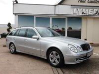 2006 MERCEDES-BENZ E CLASS 3.0 E280 CDI AVANTGARDE 5d AUTO 187 BHP £3990.00