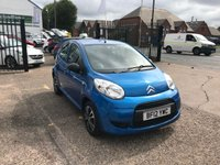 USED 2012 12 CITROEN C1 1.0 VTR 5d 68 BHP FULL SERVICE HISTORY-£20 TAX-6 STAMPS-1 FORMER KEEPER-AUX